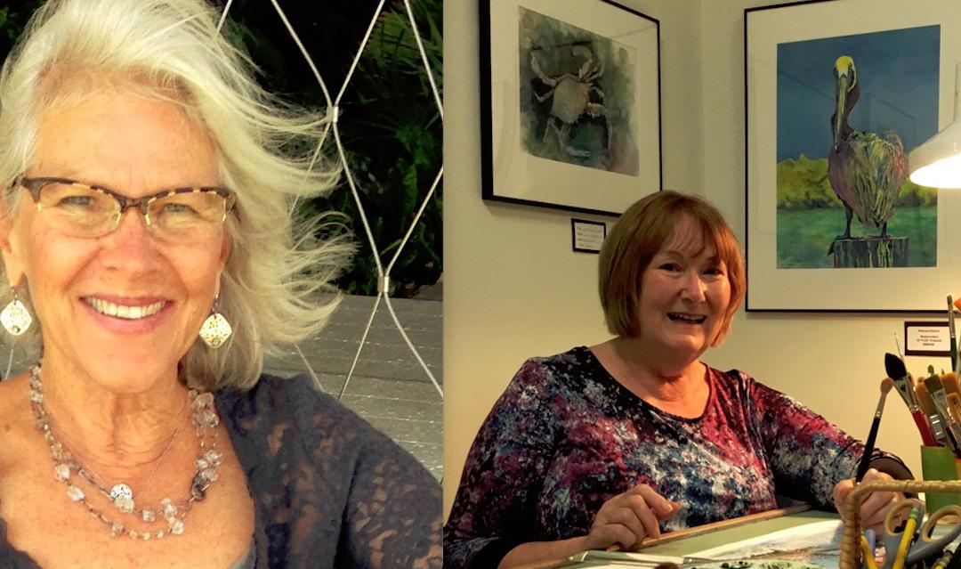 Naples Artist Spotlight: Christy Noonan & Jane Huggins