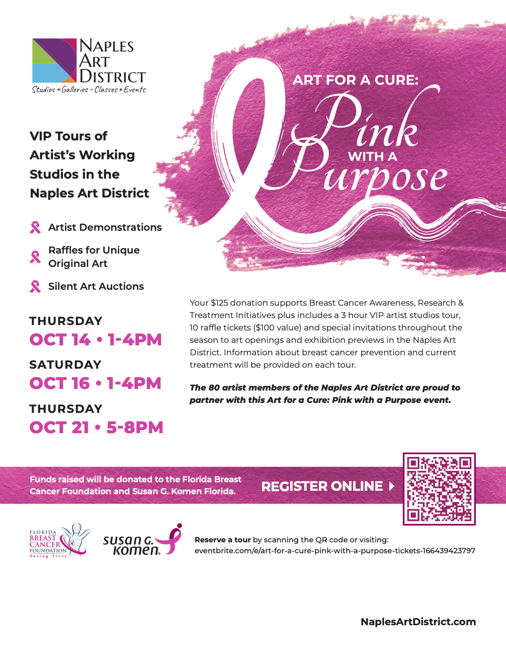 Art For A Cure: Pink With a Purpose