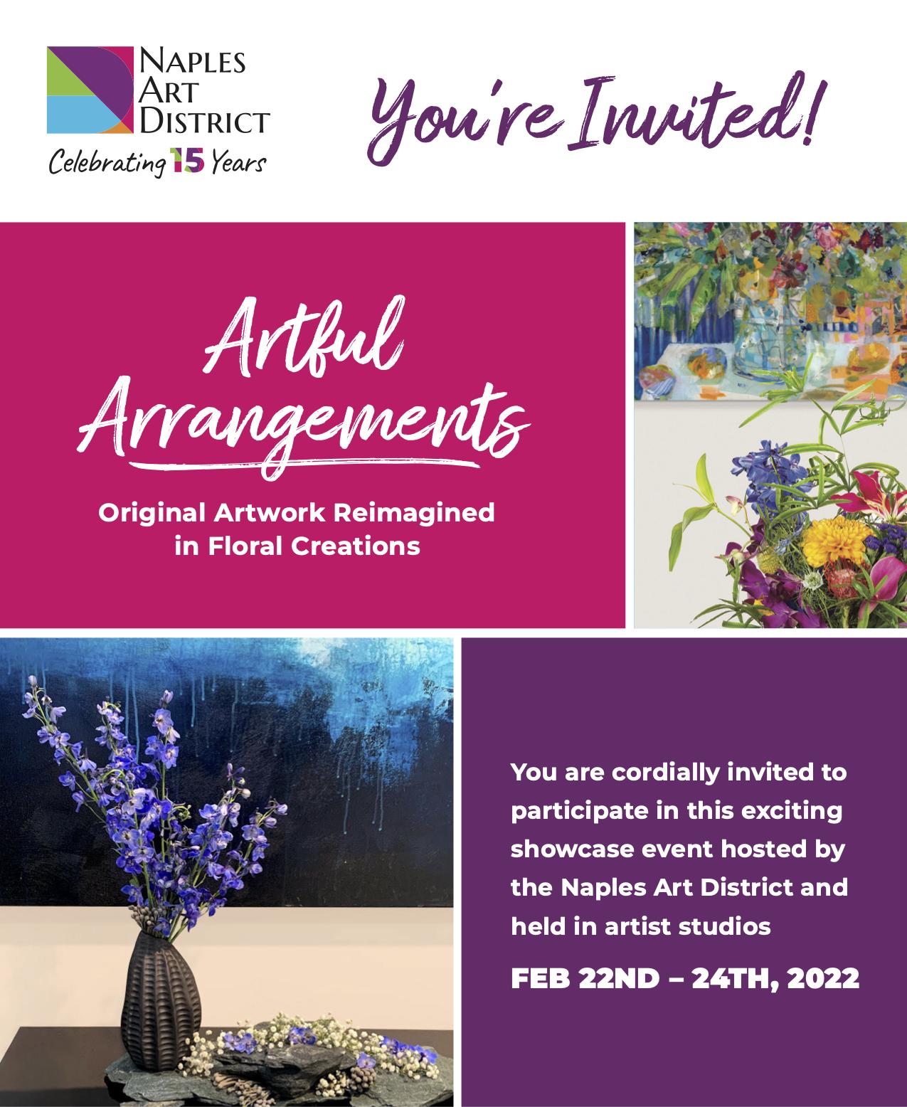 Artful Arrangements Invite Form